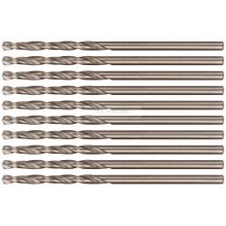 Сверло по металлу Cutop Profi с кобальтом 5%, 2х49 мм (10 шт)