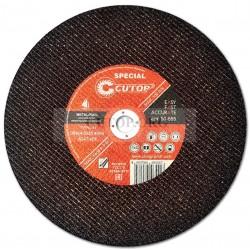 Профессиональный специальный диск отрезной по металлу и нержавеющей стали Т41-355 х 4,0 х 25,4 мм Cutop Special