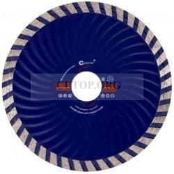Диск отрезной алмазный турбо волна CUTOP, 125 x2.3 x 8.0 x 22.2 мм